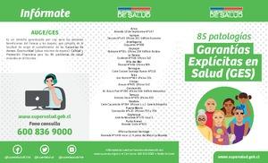 0bf550f15 Garantías Explícitas en Salud (GES) - Orientación en Salud ...